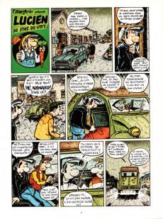 Extrait de Lucien (et cie) -5- Lucien se met au vert