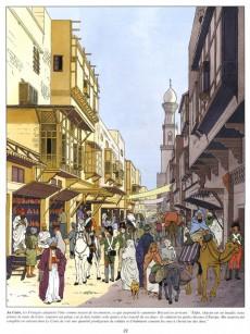 Extrait de Jacques Martin présente -3- Bonaparte - la campagne d'Égypte