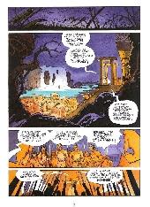 Extrait de Les immortels (Desberg/Reculé) -1- Le tombeau de l'ange
