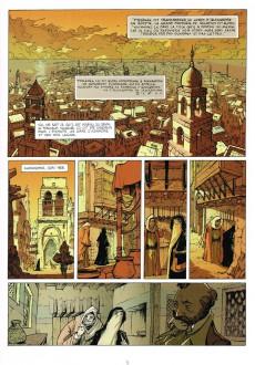 Extrait de Le tombeau d'Alexandre -1- Le Manuscrit de Cyrène