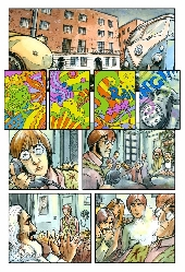 Extrait de Beatles en bandes dessinées (The) - The Beatles en bandes dessinées