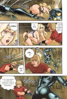 Extrait de Cobra - The Space Pirate (Taifu Comics) -9- Secret of Sword
