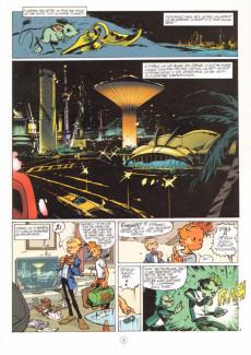 Extrait de Spirou et Fantasio -50- Aux sources du Z