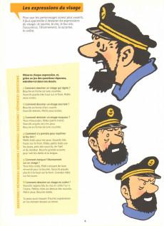Extrait de Tintin - Divers -32- L'atelier Tintin : j'apprends à dessiner et à raconter avec Hergé