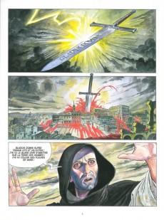 Extrait de Borgia (Jodorowsky/Manara) -1a- Du sang pour le pape