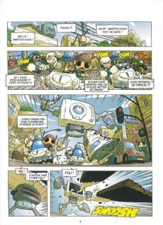 Extrait de Zblu Cops -5- Le Pays des courgettes volantes