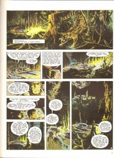 Extrait de Bob Morane 2 (Dargaud) -14a1981- La prisonnière de l'ombre jaune