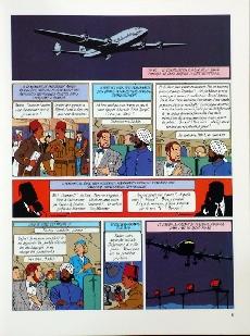 Extrait de Blake et Mortimer (Historique) -3TL2- Le Mystère de la Grande Pyramide - Tome 1