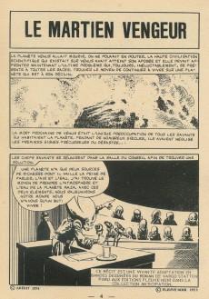Extrait de Sidéral (2e série) -36- Le martien vengeur (2e partie)