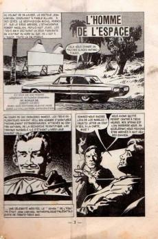 Extrait de Sidéral (2e série) -45- L'homme de l'espace