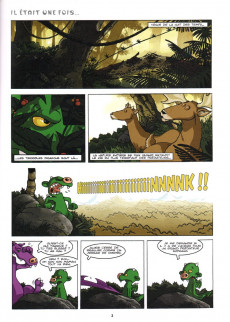 Extrait de Raghnarok -1- Dragon junior