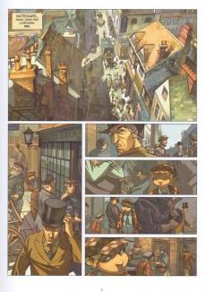 Extrait de Les quatre de Baker Street -1- L'Affaire du rideau bleu