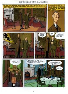 Extrait de Baker Street (Veys/Barral) -1- Sherlock Holmes n'a peur de rien