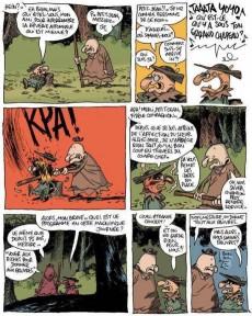 Extrait de Une aventure rocambolesque de... -4- La légende de Robin des bois