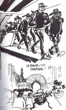 Extrait de Cabu (voyages au bout du crayon) - Revoir Paris