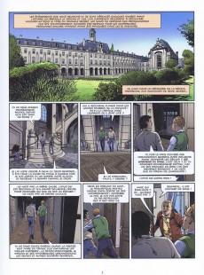 Extrait de Le triangle secret - Les Gardiens du Sang -1- Le Crâne de Cagliostro
