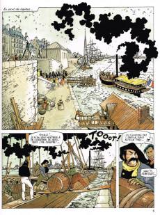 Extrait de Le grand fleuve -4- Hussards en galerne