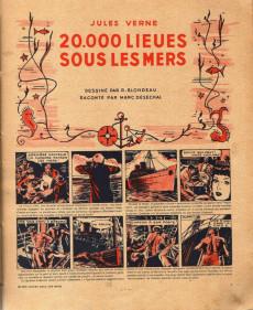 Extrait de 20 000 lieues sous les mers (Blondeau) - 20 000 lieues sous les mers