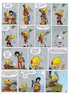 Extrait de Johan et Pirlouit -15- Les troubadours de Roc-à-Pic