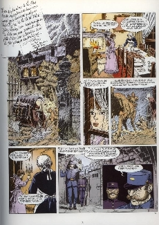 Extrait de Les jardins de la peur -1- Le caveau Hardwood