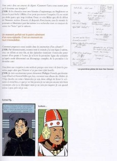 Extrait de Blake et Mortimer (Divers) -13HS- L'Affaire Francis Blake - Blake et Mortimer [histoire d'un retour] - Entretiens avec Jean Van Hamme et Ted Benoit