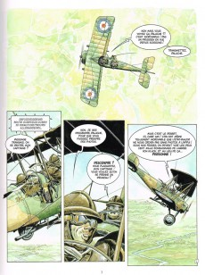 Extrait de Les sentinelles (Breccia/Dorison) -2- Chapitre deuxième : Septembre 1914 La Marne