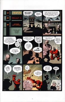 Extrait de Hellboy - Histoires bizarres (Delcourt) -3- Volume 3