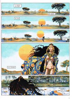 Extrait de Djinn (Dufaux/Mirallès) -9TL2- Le roi gorille