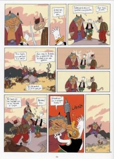 Extrait de Donjon Zénith -3- La Princesse des barbares