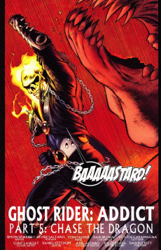 Extrait de Ghost Rider: Danny Ketch (Marvel - 2008) -5- Addict, part 5: chase the dragon