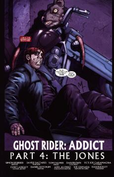Extrait de Ghost Rider: Danny Ketch (2008) -4- Addict, part 4: The Jones
