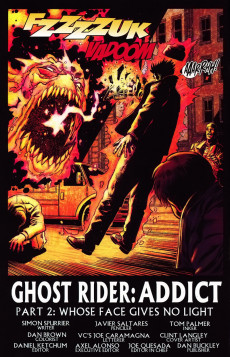 Extrait de Ghost Rider: Danny Ketch (Marvel - 2008) -2- Addict, part 2: Whose Face Gives No Light
