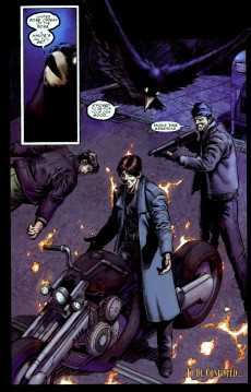 Extrait de Ghost Rider: Danny Ketch (Marvel - 2008) -1- Addict, part 1: how the mighty are fallen