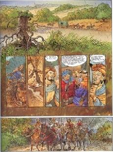 Extrait de Les griffes du Marais -3- Bras-faucon