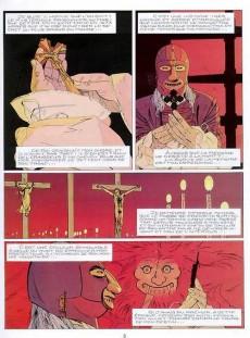 Extrait de Le masque de fer (Cothias/Marc-Renier) -5- Le secret de Mazarin