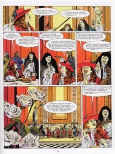Extrait de Le masque de fer (Cothias/Marc-Renier) -6- Le roi des comédiens