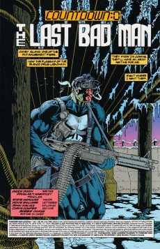 Extrait de Punisher War Journal Vol.1 (Marvel comics - 1988) -80- The last bad man - countdown : 0
