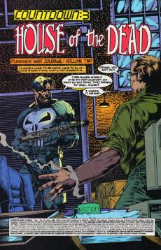 Extrait de Punisher War Journal Vol.1 (Marvel comics - 1988) -79- House of the dead - countdown : 3