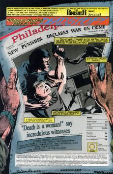 Extrait de Punisher War Journal Vol.1 (Marvel comics - 1988) -74- Final entry part 4 : deadstop