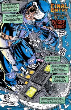 Extrait de Punisher War Journal Vol.1 (Marvel comics - 1988) -73- Final entry part 3 : a journal of the plague years