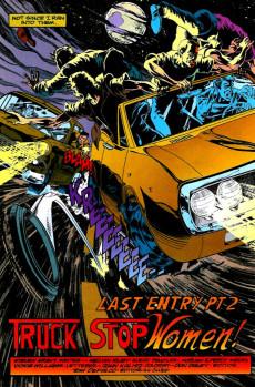 Extrait de Punisher War Journal Vol.1 (Marvel comics - 1988) -72- Final entry part 2 : truck stop women