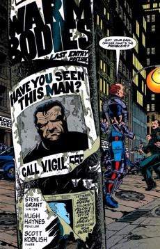 Extrait de Punisher War Journal Vol.1 (Marvel comics - 1988) -70- Final entry prelude : warm bodies