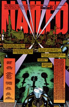 Extrait de Punisher War Journal Vol.1 (Marvel comics - 1988) -67- Pariah part 3 : nailed