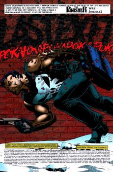 Extrait de Punisher War Journal Vol.1 (Marvel comics - 1988) -66- Pariah part 2