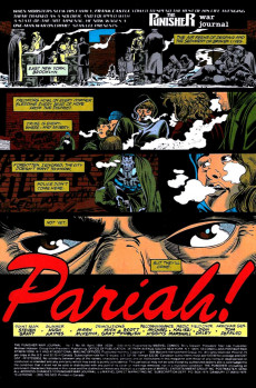 Extrait de Punisher War Journal Vol.1 (Marvel comics - 1988) -65- Pariah part 1