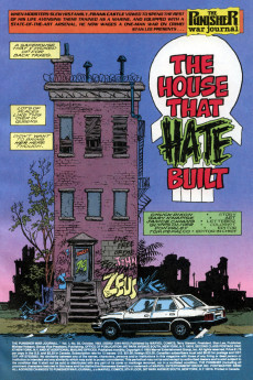 Extrait de Punisher War Journal Vol.1 (Marvel comics - 1988) -59- The house that hate built