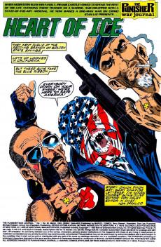 Extrait de Punisher War Journal Vol.1 (Marvel comics - 1988) -52- Heart of ice