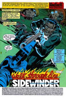 Extrait de Punisher War Journal Vol.1 (Marvel comics - 1988) -51- Walk through fire part 3 : sidewinder