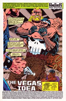 Extrait de Punisher War Journal Vol.1 (Marvel comics - 1988) -45- Dead man's hand part 3 : the vegas idea