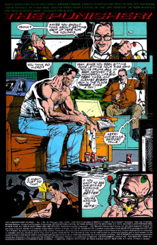 Extrait de Punisher War Journal Vol.1 (Marvel comics - 1988) -39- Slay ride